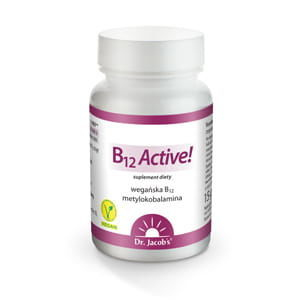 Witamina B12 Active, 60tab - Dr. Jacobs